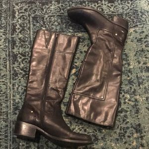 Shoes - Tall Leather Boots